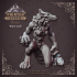 Hell Wolf - Bone - Hell Hath No Fury - Scale 32mm  (Pre-supported) image