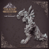 Hell Wolf - Ice - Hell HAth No Fury - Scale 32mm  (Pre-supported) image