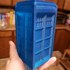 Picture of print of TARDIS: Vase Mode!