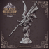 Dragon Rider - Large Dragon - Hell Hath No Fury - 32mm Scale (Pre-supported) image