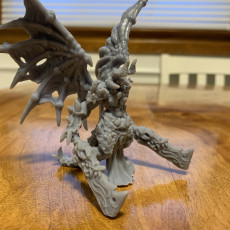 Picture of print of Falor - Greater Demon - Hell Hath No Fury - 32mm Scale (Pre-supported)