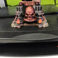 Picture of print of Hell Bell - Scenery - Hell Hath No Fury - 32mm scale (Pre-supported)
