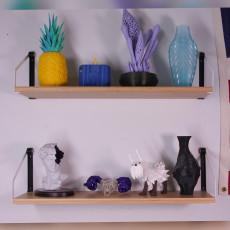 IKEA SVALNAS Shelf to Wall Adaptor