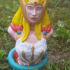 She-Ra: Princess of Power (support free bust) print image