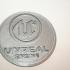 Unreal Engine 4 coaster (pair) print image
