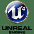 Unreal Engine 4 coaster (pair) image
