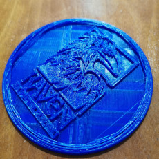 Picture of print of Raven Software coaster