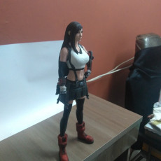Picture of print of Tifa Lockhart - Final Fantasy 7 Remake - 32cm model*