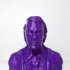 Heath Ledger as Joker (Support free bust) print image