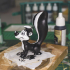 Pepe le Pew from Looney Tunes print image