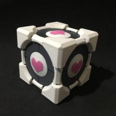 Portal Companion Cube Gift Box