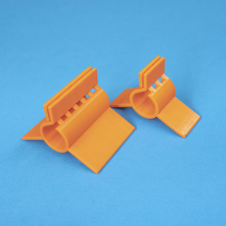 Compliant Stand Clips