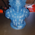 """Mer-Man from """"Masters of the Universe"""" (support free bust) print image"""