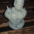 """Trap-Jaw from """"Masters of the Universe"""" (support free bust) print image"""