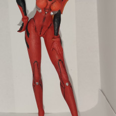 Picture of print of Asuka - Neon Gensis Evangellion - 30 cm model