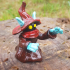 """Orko from """"Masters of the Universe"""" (support free) print image"""