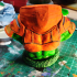 """Man-At-Arms from """"Masters of the Universe"""" (support free bust) print image"""