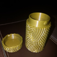 Picture of print of Ferrofluid Container