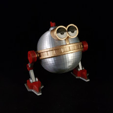 Picture of print of Melvin - QT-1 GiftBot 5000