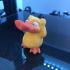 Psyduck from Pokémon print image