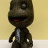 """Sackboy from """"Little Big Planet"""" (support free) print image"""