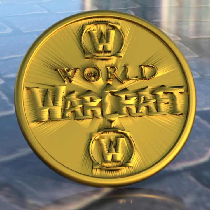 World of Warcraft coaster