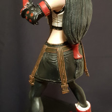 Picture of print of Tifa Lockhart - Combat Stance - Final Fantasy 7 Remake - 32cm model*