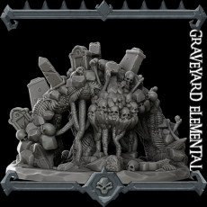 Deluxe: Graveyard Elemental