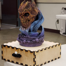 Picture of print of Death Skull