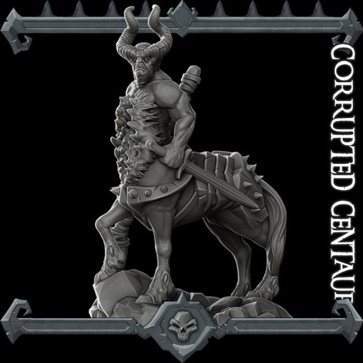 Corrupted Centaur
