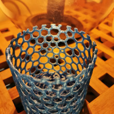 Picture of print of Celtic knot container v2