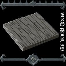 Gothic City: Wood Floor Sample