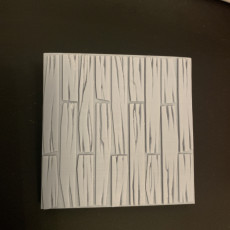 Picture of print of Gothic City: Wood Floor Sample