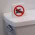 No Swimming Sign image