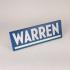 "Elizabeth Warren Logo Fridge Magnet 6"" image"
