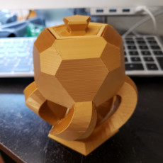 Picture of print of Lid for Hexographic Bowl