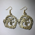 Celtic Dragon earrings image