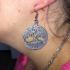 Celtic tree earrings image