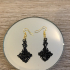 Celtic cross earrings image