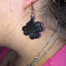 Celtic knot earring
