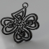 Celtic knot earring image