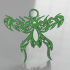 Celtic fly earrings image