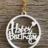 Happy birthday earrings image