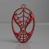 Spiderman earrings image