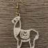 Llama earrings image