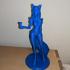 Ahri KDA - League of Legends - 25cm tall model print image