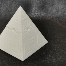 Picture of print of Earth Pyramid Box