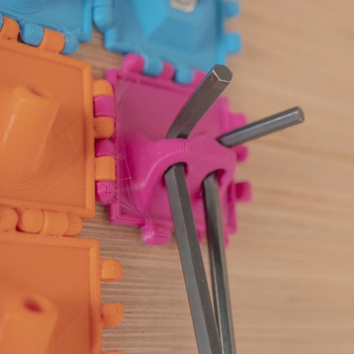Polypanels // Allen Key Holder (6.5mm hole)