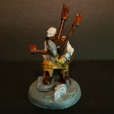 Picture of print of The Dwarf Bard - By Dan Kelly (Elegoo Mars Free Edition)