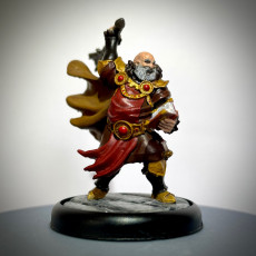 Picture of print of The Cleric - By Dan Kelly (Elegoo Mars Free Edition)